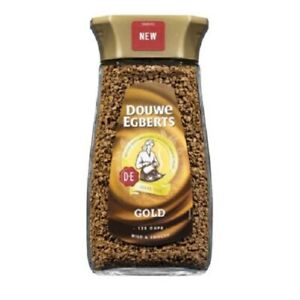Details About Douwe Egberts Pure Gold Instant Coffee 200g