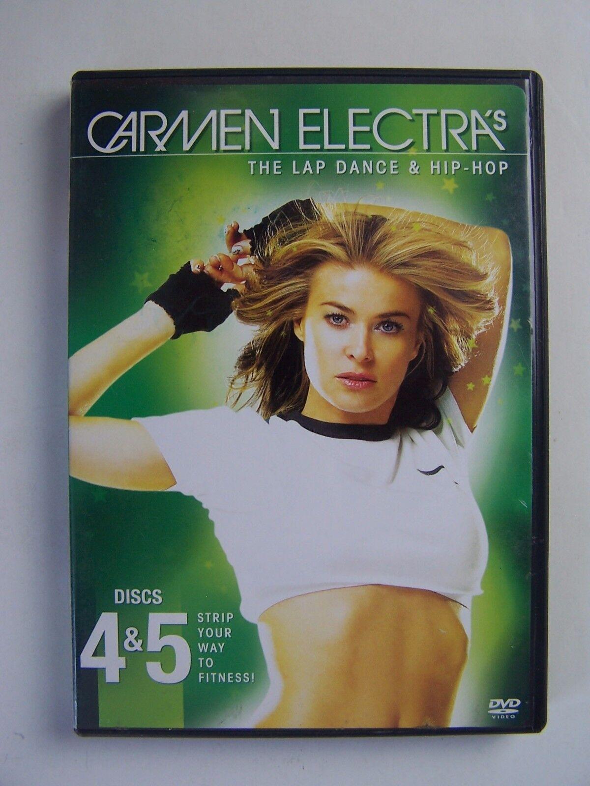 Carmen Electra's The Lap Dance & Hip Hop Disc 4&5 DVD 8