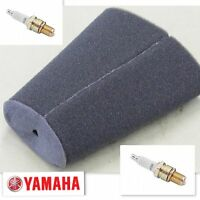Yamaha Banshee Tune Up Kit Air Filter + Ngk Spark Plugs Yfz350 Yfz 350 Br8es