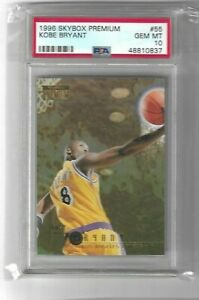 Kobe-Bryant-1996-Skybox-Premium-Rookie-PSA-10-Lakers