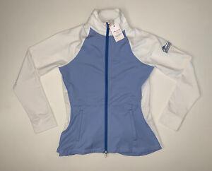 NEW-Women-s-Peter-Millar-Golf-Athletic-Full-Zip-Jacket-Size-Medium-129-Retail