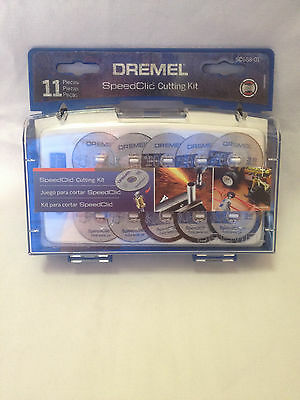 11PC DREMEL SPEEDCLIC CUTTING KIT SC688-01