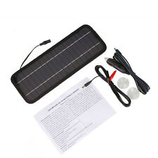 1Pcs 12V Car Solar Panel Battery Maintainer Charger For Vehicle Boat Motorcycle