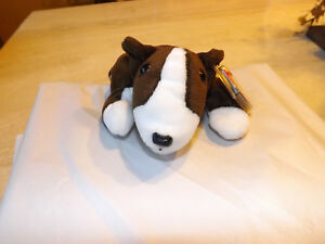 f566625b9a2 MWMT 1997 Ty Beanie Baby Bruno The Terrier Dog Rare PE Plush Toy ...