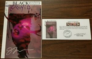 Black Orchid (1993) #5 SIGNED Jill Thompson w/ Notarized Witness of Signature