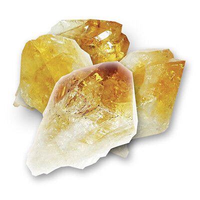 Natural Citrine Point Healing Rock - Crystal Gemstone for Chakra and Reiki