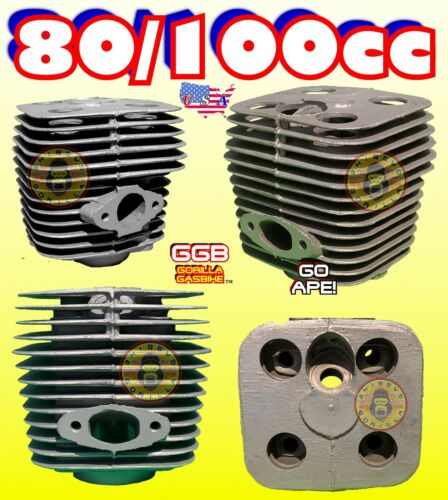 NEW 80cc//100cc SPARE 2-STROKE YD-100 MOTORIZED BIKE CYLINDER FOR KITS ENGINES