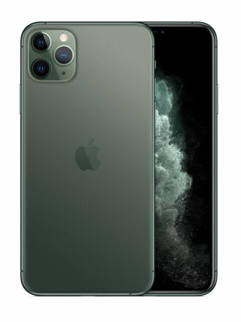 Apple iPhone 11 Pro Max - 64GB MidnightGreen (Unlocked) A2161 CDMA + GSM