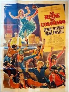 Plakat-Kino-Western-La-Reine-Du-Colorado-120-X-160-CM