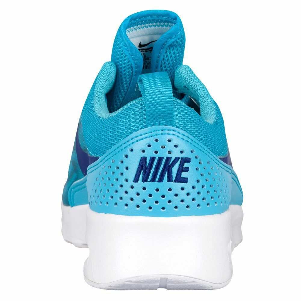 Para mujer Nike Air Max Thea 599408 Print Zapatillas, 599408 Thea Tamaños 403 Mult Gamma Azul/ 947858