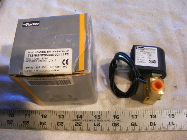 General Purpose Valve Parker Fluid Control DIV 2341NAKDHNM1A1CA22C2-24VDC 3W