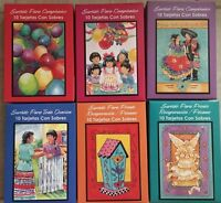 Spanish Boxed Greeting Cards - Tarjetas Con Sobres - Your Choice