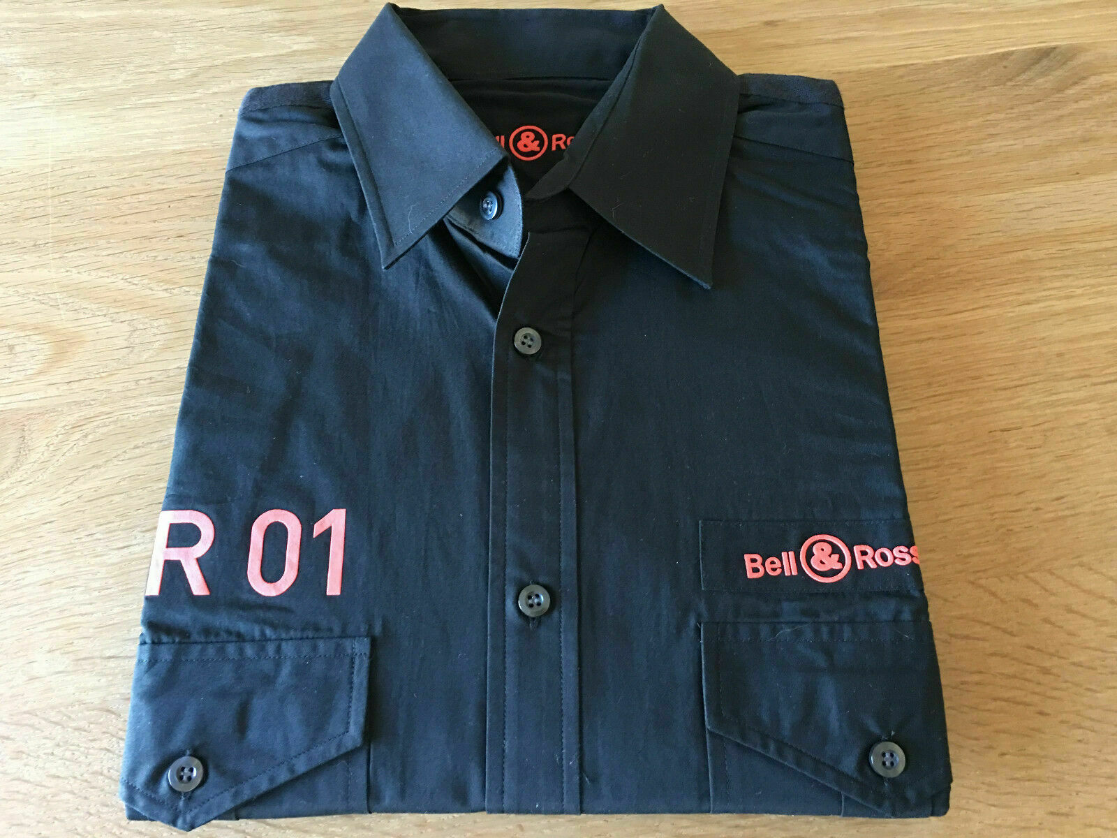 Nueva - BELL & ROSS BR 01 - Camisa Shirt - Size...