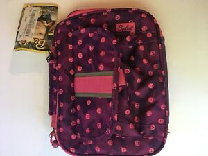 18c6ad9b0da2 Details about Bixbee Kids Designer EmotiCamo Emoji Insulated Lunchbox, Pink