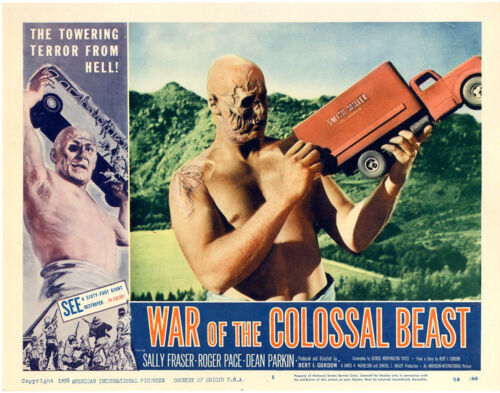 """War of the Colossal Beast  Movie Poster Replica 11x14/"""" Photo Print"""
