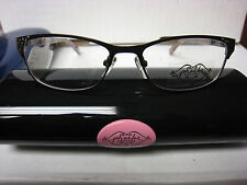 14e3339205c item 4 Phoebe Couture Eyeglass Frames P271 BROWN 52-16-135 With Case -Phoebe  Couture Eyeglass Frames P271 BROWN 52-16-135 With Case
