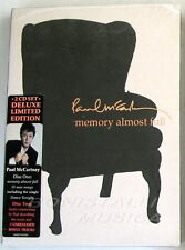 PAUL McCARTNEY - MEMORY ALMOST FULL - BOX 2 CD Deluxe Limited Edition Sigillato