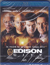 Blu-ray **EDISON CITY** con M.Freeman LL.Cool J Timbeerlake K.Spacey nuovo 2005