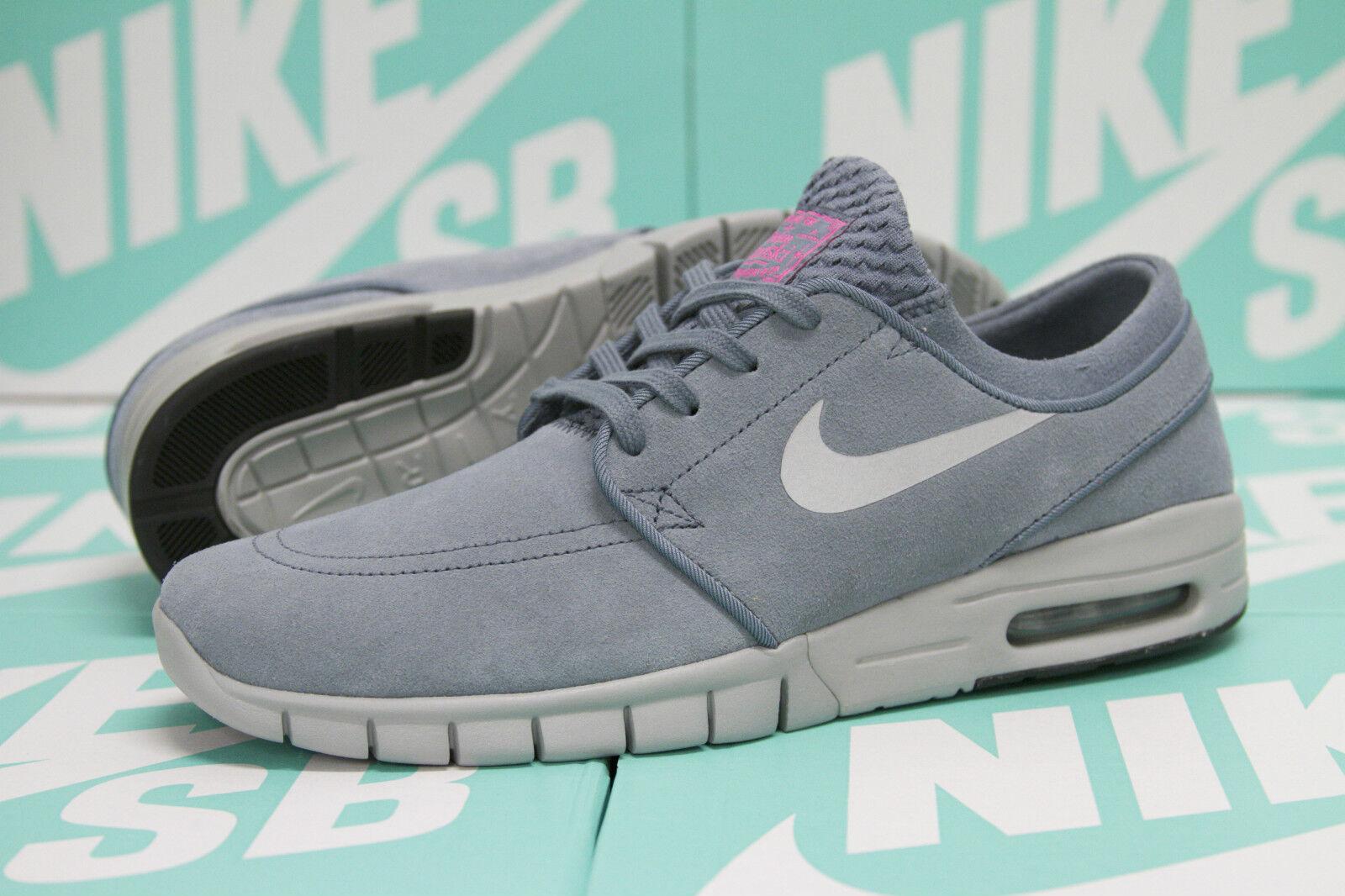 Nike sb stefan janoski max l rosa - blu) / silver rosa l - 685299 406 sz 8,5 0cc6d3