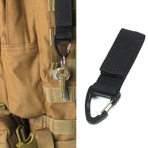 Nylon Carabiner Hook Keychain Clasp Belt Outdoor Tactical Travel Backpack Y3P4