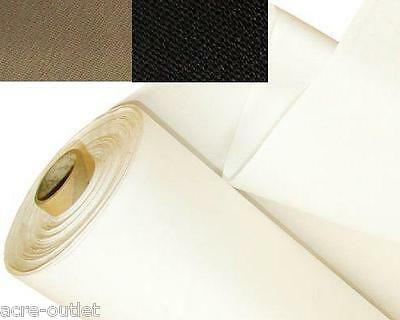 Blackout Thermal Curtain Lining Fabric Material 3 PASS 4 COLOURS NOW AVAILABLE!