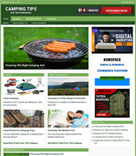 Camping Tips Website Business For Sale Work From Home Internet Business