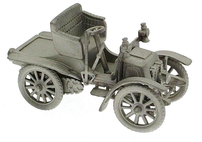 Danbury Mint authentic scale replica pewter car 1903 Panhard 7HP