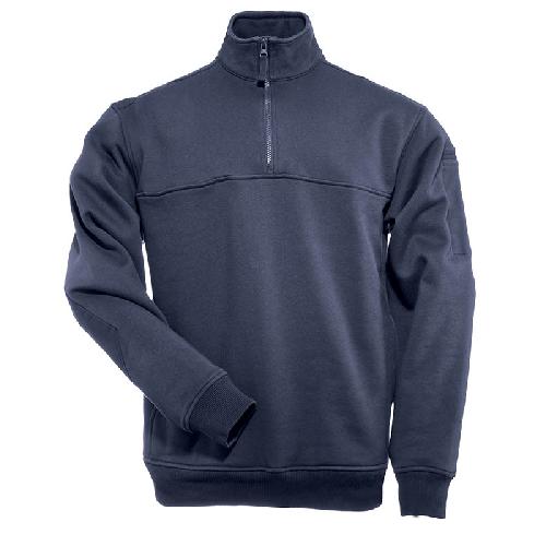 5.11 Tactical 1/4 Zip Job Long Sleeve Sleeve Long Shirt  Herren Regular 3XL Fire Navy 72314 720 6599e5
