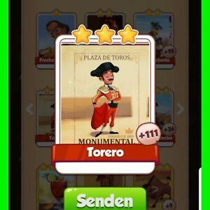 Coin-Master-Karten-5x-Torero