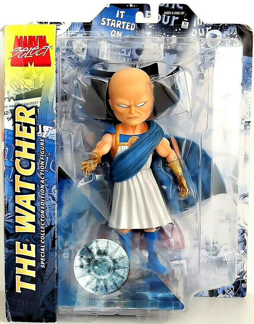 THE WATCHER  UATU figura PVC 18cm Marvel Select