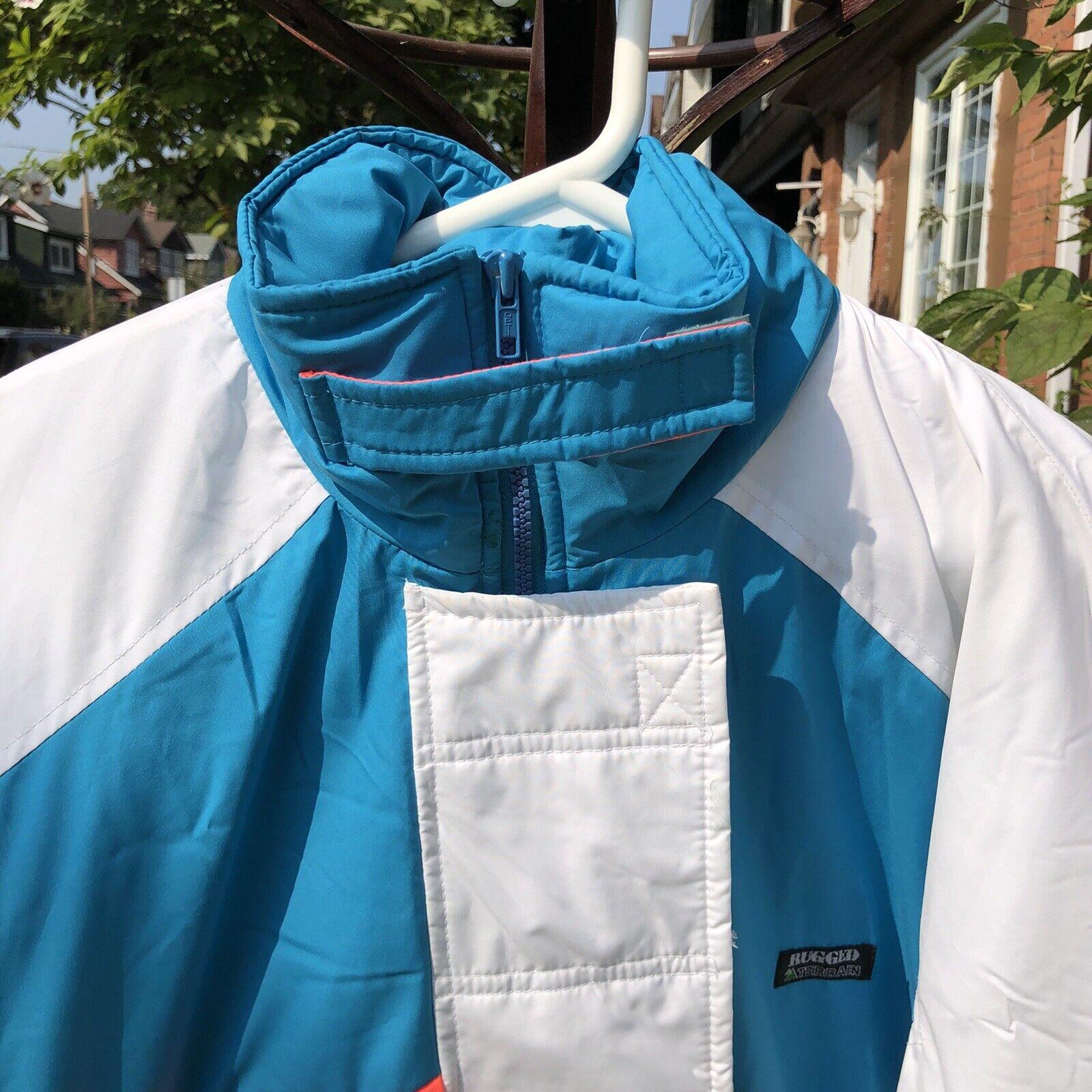 Vintage 90s Ski Multi-color Color Block Jacket Co… - image 5