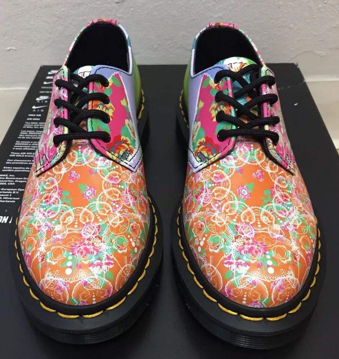 Dr Martens Smiths Daze 4 Eye Oxford shoes Floral Multi Women Size 5