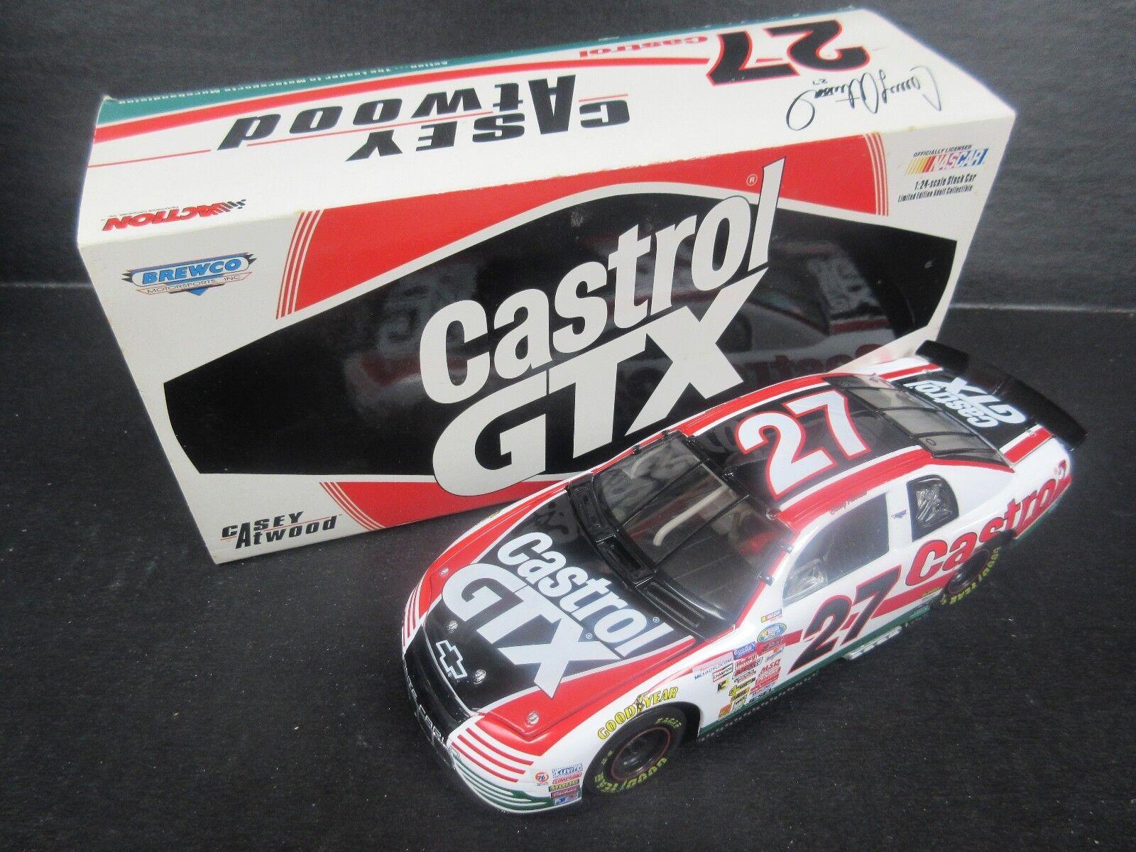 1999 Casey Atwood acción  27 -- Castrol Gtx -- escala 1 24th