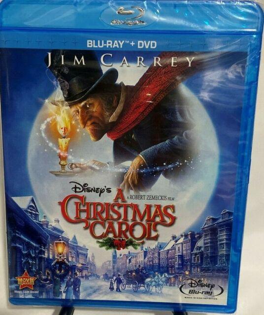 A Christmas Carol Blu-ray + DVD, Region A, Widescreen, Jim Carrey | eBay