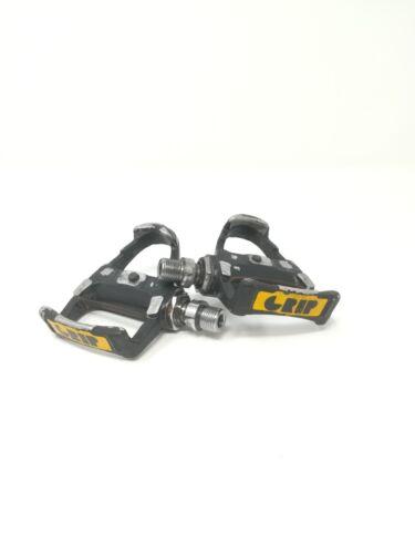 pedali pedals Grip Crip corsa road look  sgancio rapido