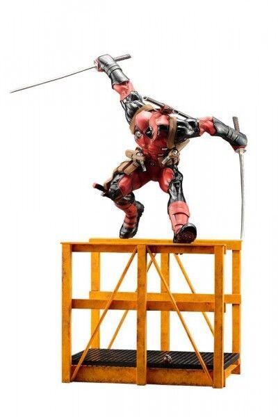 Marvel Now  figurine PVC ARTFX 1 6 Super Deadpool 16 7 8in statue Kotobukiya