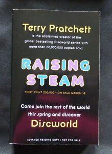 RAISING STEAM Terry Pratchett US UNCORRECTED PROOF / ARC 1st ED Discworld