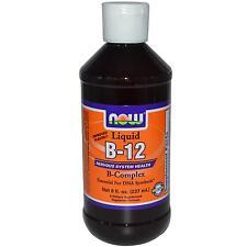 Now Foods Vitamin B-12 LIQUIDO B-COMPLEX - 237ml-la salute del sistema nervoso
