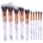 10PCS-Kabuki-Make-up-Brushes-Set-Makeup-Foundation-Blusher-Face-Powder-Brush-NEW thumbnail 1