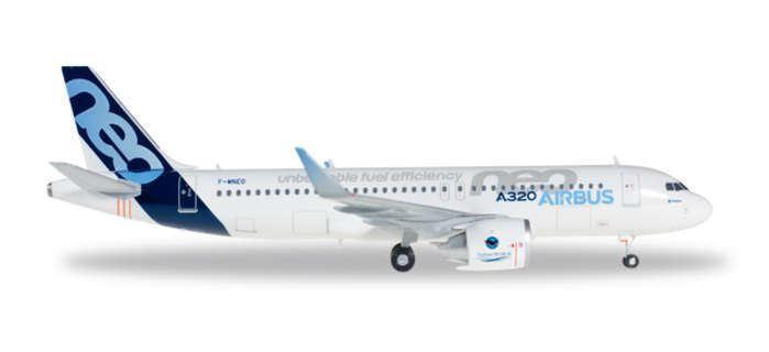 HE557894 Herpa vinges flygbusss House A20NEO 1 200 Förlaga flygagagplan