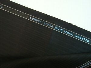 6-77-yd-HOLLAND-SHERRY-WOOL-FABRIC-Super-120s-worsted-9-5-oz-Suiting-244-034-BTP