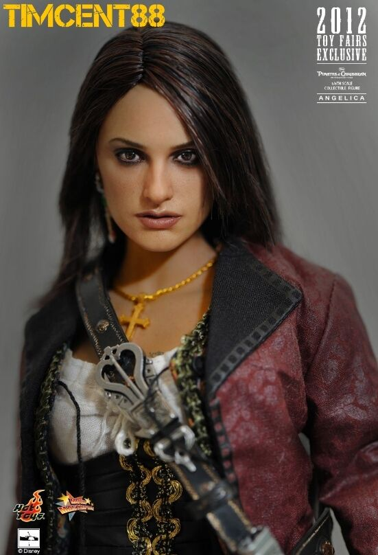 Hot Toys MMS181 piratas de el Caribe Penelope Cruz Angelica 1 6 Sellado