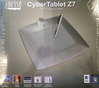 Adesso Cybertablet Z7 Graphic Pen Art Drawing Tablet - 5.5 X 4