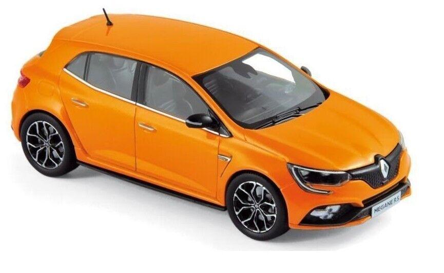 Renault Megane RS 1 43 Scale Model Volcanic orange 2018