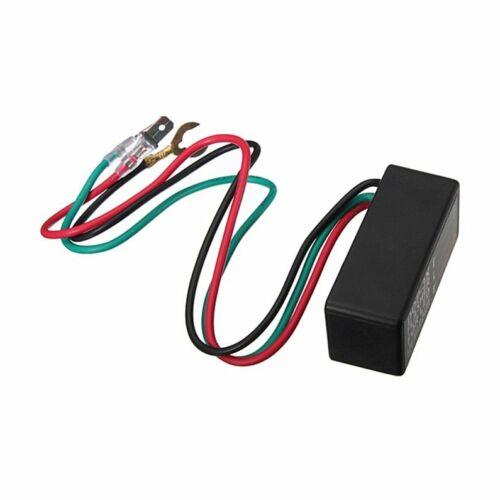 3-Wires Motorcycle LED Blinker Relay Waterproof Universal DOP-3X Car Flasher HW