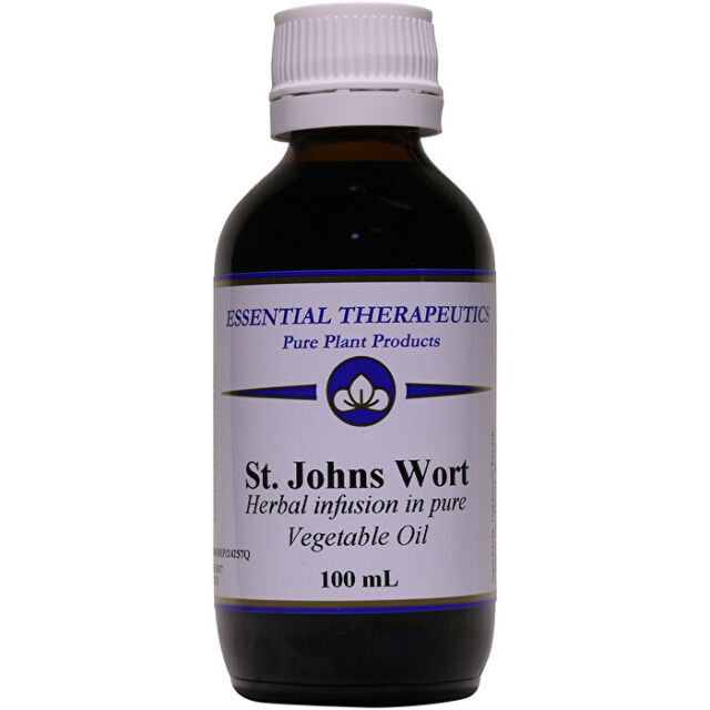 Essential Therapeutics Infused St John's Wort 100ml Essential Oil Blends