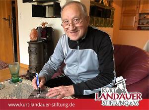 Autogrammkarte-Jakob-Drescher-Kurt-Landauer-Stiftung-FC-Bayern-Muenchen