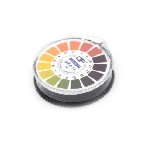 Portable5m 0-14 PH Alkalische Säure Indikatorpapier Wasser Urin Speichel LackPDH
