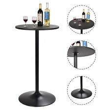 "24"" Dia Round Bar Table Bistro Pub Counter Home Outdoor Indoor Kitchen Furniture"