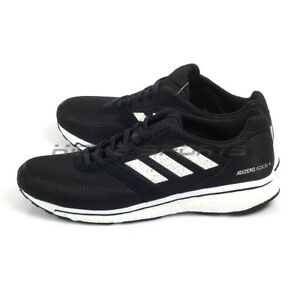 05d6f3c21c0 Adidas Adizero Adios 4 M Black White Boost Running Shoes Sneakers ...